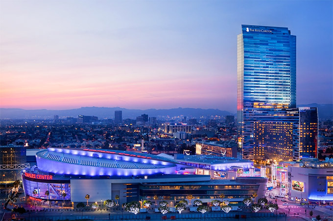 Ritz Carlton Residences At La Live Los Angeles Silkrouteasia